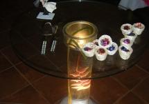 Mesa para Pastel iluminada