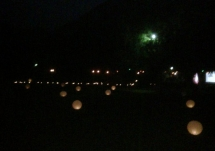 Esferas iluminadas
